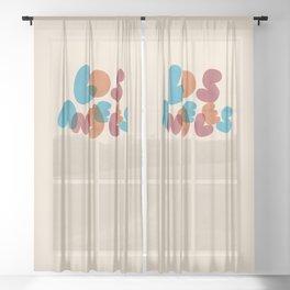 Los Angeles Sheer Curtain