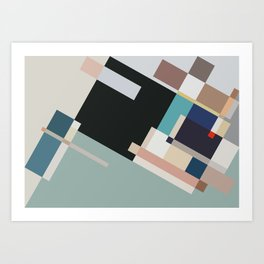 Color and Composition Study Art Print