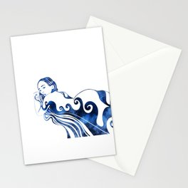 Water Nymph III Stationery Cards