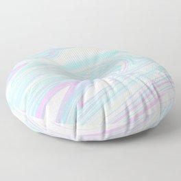 Bubblegum Marble Floor Pillow
