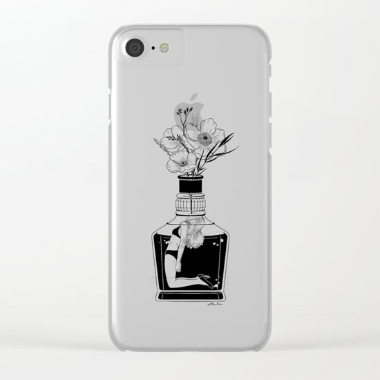 Hangover Clear iPhone Case