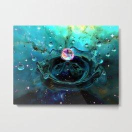 Gravitational Pool Metal Print