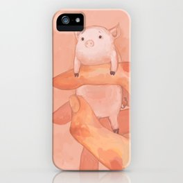 small porky iPhone Case