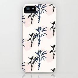 Double palm pattern iPhone Case