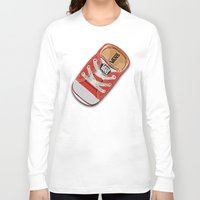 vans Long Sleeve T-shirts featuring Cute red Vans all star baby shoes apple iPhone 4 4s 5 5s 5c, ipod, ipad, pillow case and tshirt by Three Second
