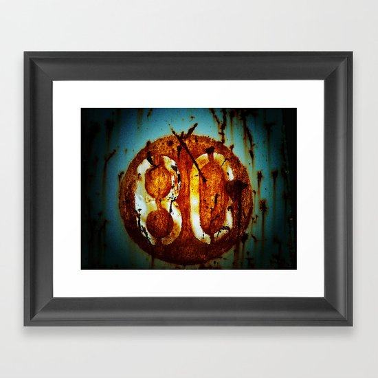 Malditos 80´s  Framed Art Print