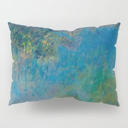 Claude Monet Wisteria Pillow Sham