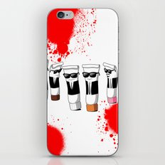 Reservoir Colours (with blood and light colored t-shirts) iPhone & iPod Skin