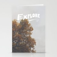 explore Stationery Cards featuring Explore by Zach Terrell