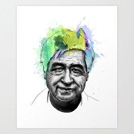 Cesar Chavez Art Print