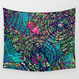 Spring Swing Wall Tapestry