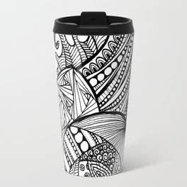Zentangle Snail Travel Mug