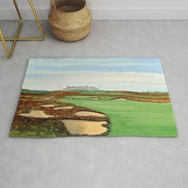 Shinnecock Hills Golf Course With Clubhouse Rug