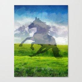 Horse fantasy Canvas Print