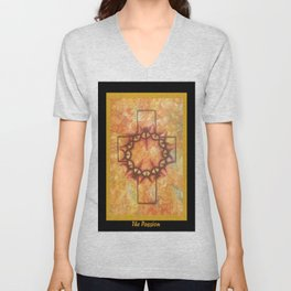 The Passion 2 By Saribelle Rodriguez Unisex V-Neck