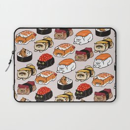 Sushi Persian Cat Laptop Sleeve