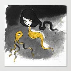Golden Scales Canvas Print