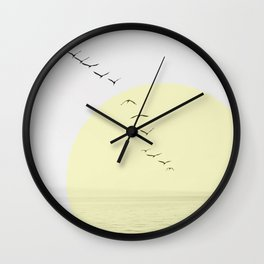 Birds Migrating Wall Clock