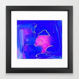 LetsKiss Framed Art Print