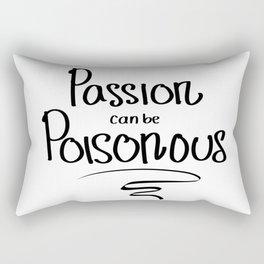 Passion Poison Rectangular Pillow