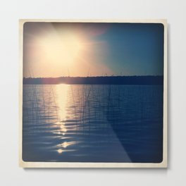 SOFT WATER Metal Print