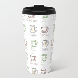 Hot Drinks (Color) Travel Mug