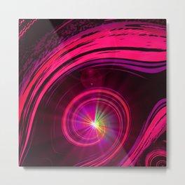 Fantasy Eye - Color Spectrum Metal Print