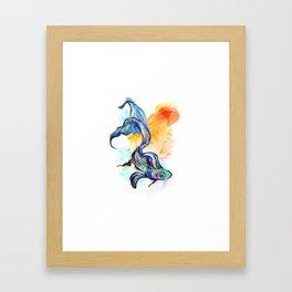 In Streams Framed Art Print