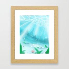 The Oatmeal Deep Framed Art Print