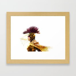 GOLDENLORD Framed Art Print