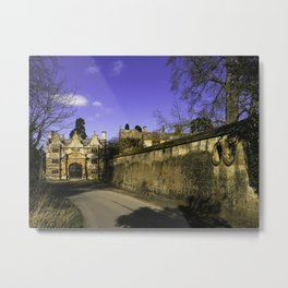 Manor Gatehouse  Metal Print