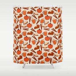 Pumpkin Fanatic Shower Curtain