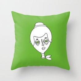 faces 01 Throw Pillow
