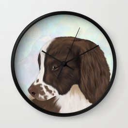 English Springer Spaniel Dog Wall Clock