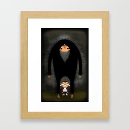 The Boogeyman Framed Art Print