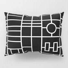Map With Roundabout Pillow Sham