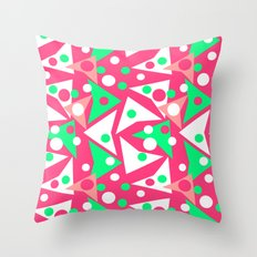 Hot Pinkness Throw Pillow