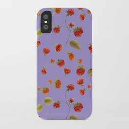 Strawberry Jammin iPhone Case