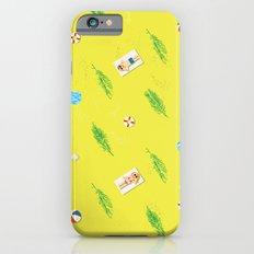 sunny beach pattern iPhone 6s Slim Case