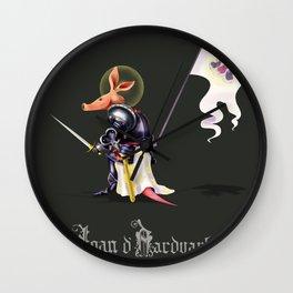 Joan D'Aardvark Wall Clock