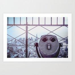 Perfect New York Night - City Life Art Print
