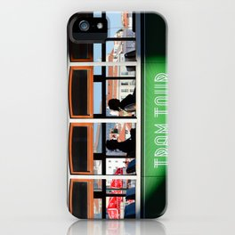 Lisbon Portugal tramway iPhone Case
