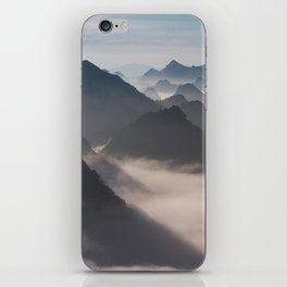 Mountain Valley #society6 iPhone Skin
