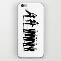 reservoir dogs iPhone & iPod Skins featuring Reservoir Brothers by The Cracked Dispensary