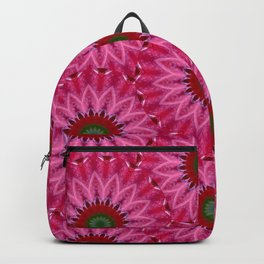 Retro Pink Daisy Backpack