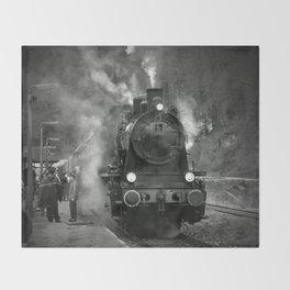 Steam Engine Throw Blanket