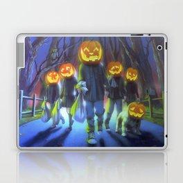 Attack of the Jack-O-Lanterns Laptop & iPad Skin
