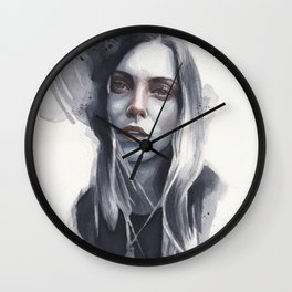 Small watercolor 05 Wall Clock