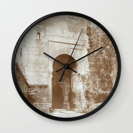 The Alhambra. Puerta de la Justicia Wall Clock