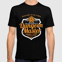 Dungeon Master Gamer RPG Cube funny gift T-shirt